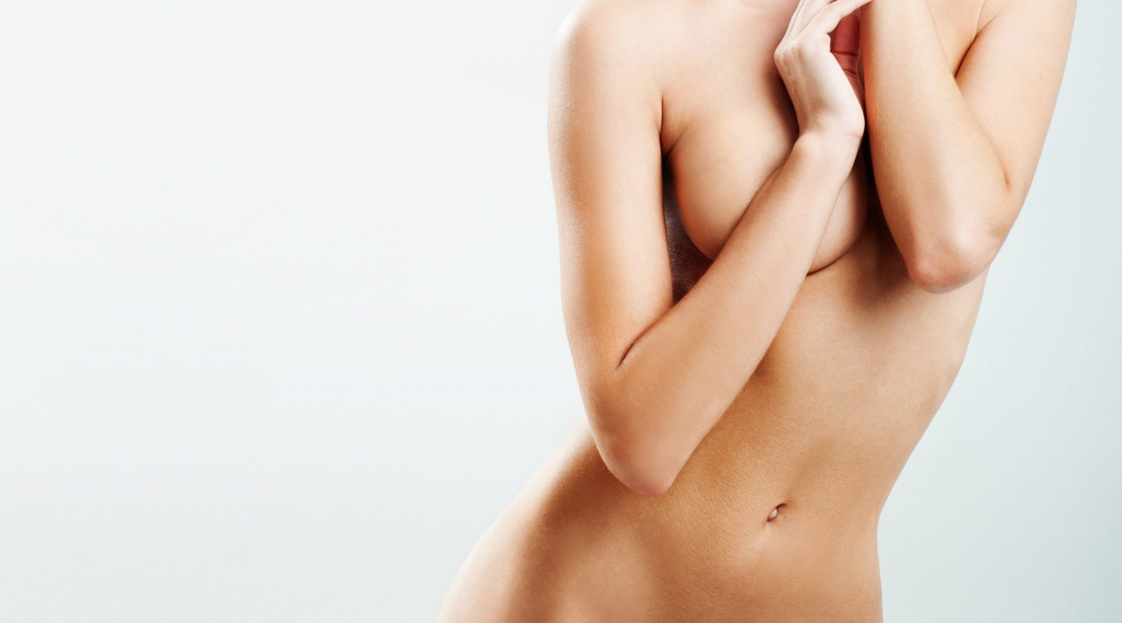 Naked woman body